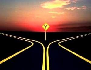 road-split